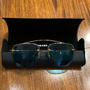 Prada sunglasses. Green lens